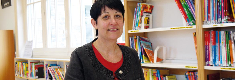 Sylvie Bouttier, professeur documentaliste
