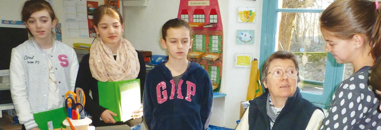 Anne Lachèze, directrice de l'école du cours secondaire d'Orsay et présidente de l'AIrap accompagne chacun de ses élèves.