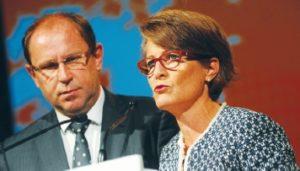 Jean-François Hillaire et Caroline Saliou - © A. Van des Stegen