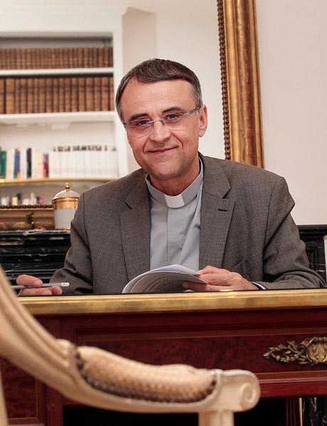Philippe Bordeyne, le recteur de l'Institut catholique de Paris