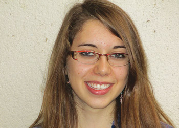 Anne-Sophie, lycéenne de l'Institution Notre-Dame-La-Riche, à Tours