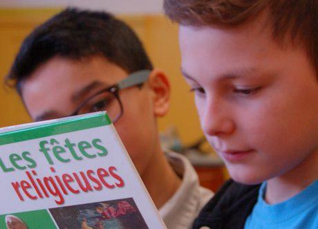 Pourtant non obligatoires en 5e, les cours de culture religieuse sont largement suivis par les élèves.