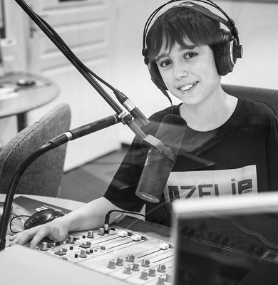 Eliot, collégien et animateur de radio Temps Rodez