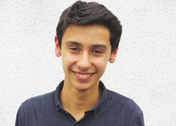 Gaël, lycéen de l'Institution Notre-Dame-La-Riche, à Tours.