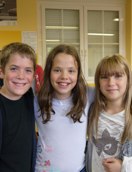 Trois petits reporters…