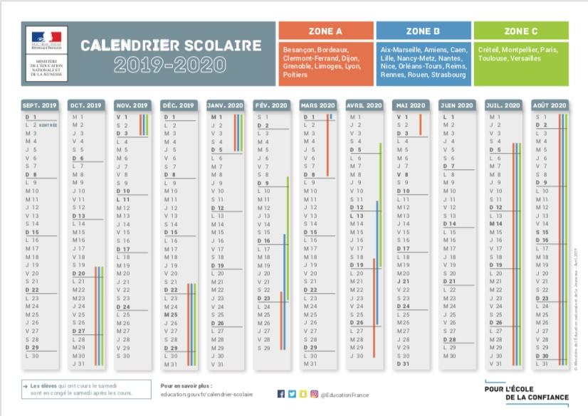 Calendrier Scolaire 20202019.Calendrier Serie A 2020