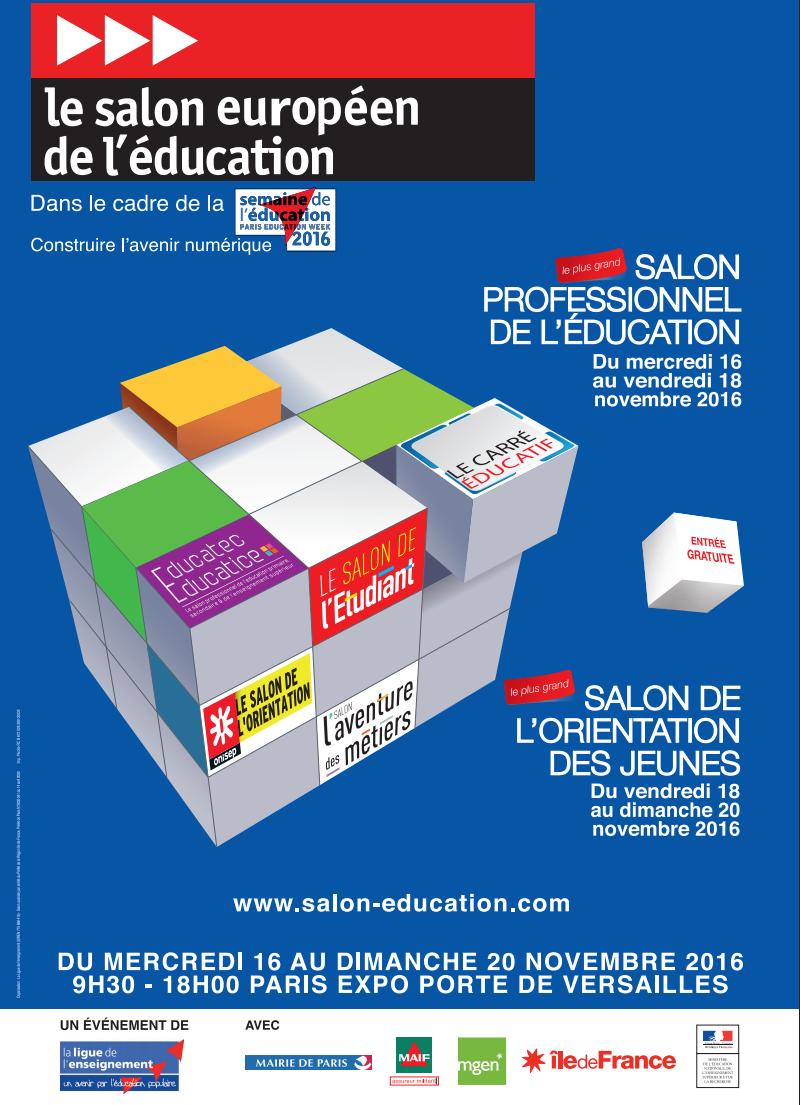 affiche salon-education