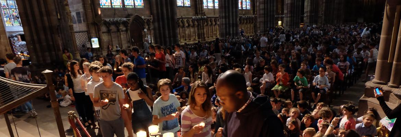 Une « Cérémonie de la Parole » a rassemblé 1 200 jeunes dans la cathédrale de Strasbourg.