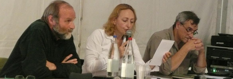 Jean-Marie Petitclerc, Maryline Baumard et Jean-Yves Rochex ont débattu autour de la problématique de la mixité sociale.