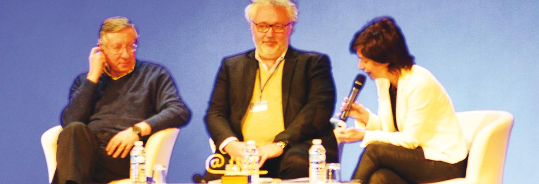 Milad Doueihi et Jacques-François Marchandise, interviewés par Capucine Graby.