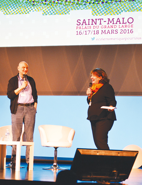 Serge Tisseron et Françoise Maine.