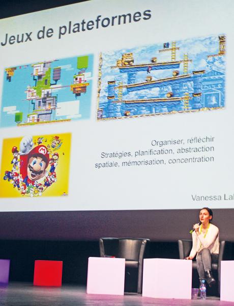 Vanessa Lalo est favorable à l'utilisation du jeu dans les apprentissages.