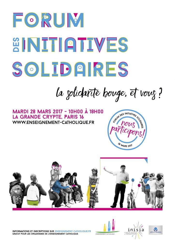 Forum des initiatives solidaires - affiche