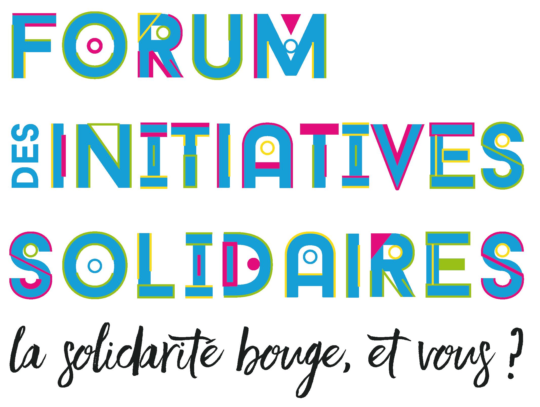 Logo du forum des initiatives solidaires