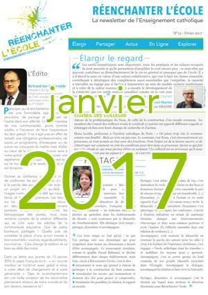 Newsletter Réenchanter l'École - Janvier 2017